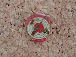 PINS STAND DE TIR POINT ROUGE MOUSCRON - Pin's & Anstecknadeln