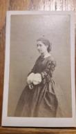 Photo CDV PHOTO MAISON MARTINET IDENTIFICATION AU DOS 1850 - Antiche (ante 1900)