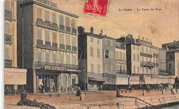 CPA La Ciotat - Le Carré Du Port - La Ciotat