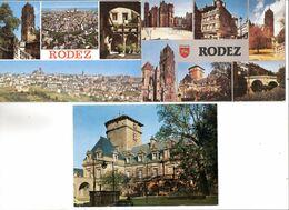 LOT DE 3 CPSM DE RODEZ - Rodez