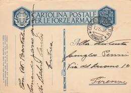FRANCHIGIA 1936 TIMBRO CONCENTRAMENTO OM ASMARA (ZX284 - Franchise