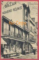 Dreux Dépt. Eure Et Loir : La Maison Des Magasins Réunis - Bazar - Thème Commerce - Carte Publicité - Dreux