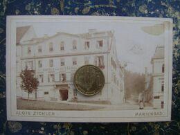 Czech Republic-Marienbad-Mariánské Lázně-photograhfer A.Zickler--110x70mm-cca 1890 (4284) - Photos