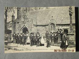 CP 22 LOCARN Prés Mael Carhaix - Noce Bretagne Au Pays De CORNOUAILLES  Vers 1910 - Other Municipalities