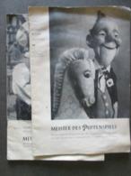 MEISTER DES PUPPENSPIELS, ZWEI MAGAZINE,  MASTER OF MARIONNETTE, TWO MAGAZINES - Teatro & Script
