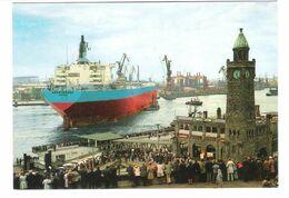 "Germany - Hamburg Harbour - Supertanker - Schiff - Ship - Tanker "" Römö Marsk "" Odense - Pétroliers"
