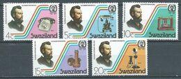 Swaziland YT N°262/266 Première Liaison Téléphonique Neuf ** - Swaziland (1968-...)