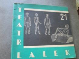 POLAND, TEATR LALEK  21, BYTOM 1962,  PUPPET THEATER MAGAZINE - Books, Magazines, Comics