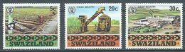 Swaziland YT N°404-405-406 Industrie Du Sucre Neuf ** - Swaziland (1968-...)