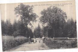 Dépt 69 - SAINT-IGNY-DE-VERS - Route De St-Igny-de-Vers - Bois Des Coucous - Animée - Other Municipalities