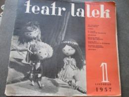 POLAND, TEATR LALEK  1, LODZ 1957,  PUPPET THEATER MAGAZINE - Books, Magazines, Comics