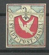 """Canton De Bâle-Ville , """"Colombe De Bâle""""(Basler-Taube), Retirage IMABA  1948 - 1843-1852 Correos Federales Y Cantonales"""