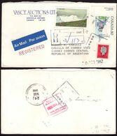 Canada - 1982 - Lettre - Air Mail - Registered - Envoyée à Argentina - A1RR2 - Lettres & Documents