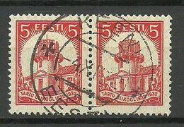 Estland Estonia 1932 O KEENI Michel 94 As Pair - Estland