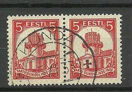 Estland Estonia 1932 O KUNDA Michel 94 As Pair - Estland