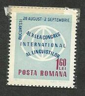 ROMANIA; LINGUISTS CONGRESS - Altri