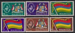 Mauritius 1968 QE2 Set Independence Umm SG 364 - 369  ( G1026 ) - Mauritius (...-1967)