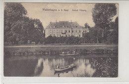 Wallerfangen A.d. Saar - Schloss Villeroy - 1915 Feldpost Vom Reserve-Lazarett Wallerfangen / Rotes Kreuz - Kreis Saarlouis