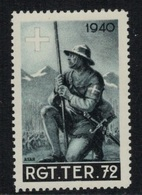 Suisse /Schweiz/Switzerland // Vignette Militaire // Troupe Territoriale, Rgt.Ter.72 - Viñetas