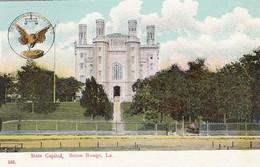 Baton Rouge Louisiana, State Capitol Building, C1900s/10s Postcard - Baton Rouge