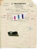 J. FROIDMONT / HEURE LE ROMAIN / HERMEE / PEINTRE  / MARBRE / PIERRE / VITRIER / ENCADREUR - 1900 – 1949
