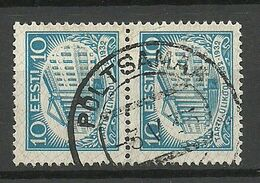Estland Estonia 1932 O PÕLTSAMAA Michel 95 As Pair - Estland