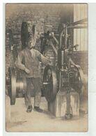 MOTEUR JAPY #15881 CARTE PHOTO MILITAIRE UN MOTEUR JAPY PUBLICITE - Pubblicitari