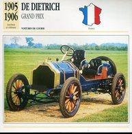 France 1905-1906 - De Dietrich Grand Prix - Voitures