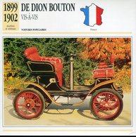 France 1899-1902 - De Dion Bouton Vis à Vis - Voitures