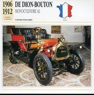 France 1906-1912 - De Dion Bouton Monocylindre AL - Voitures