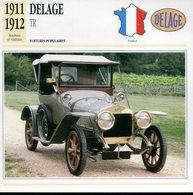 France 1911-1912 - Delage TR - Cars