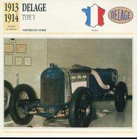 France 1913-1914 - Delage Type Y - Cars