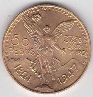 Mexique. 50 Pesos Or 1947 Contrefaite. 23,4g. Fausse. Fake - Mexico