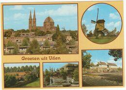 Uden : St. Petrus-kerk, Standaardmolen 'Molen Van Jetten', Birgittinessen Klooster, Galery, Gem. Huis - Uden