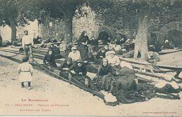 CPA -27008- 66 -Collioure Femmes De Pêcheurs Rapiécant Les Filets -Envoi Gratuit - Other Municipalities