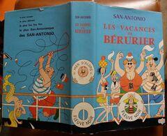 C1  SAN ANTONIO Les VACANCES De BERURIER Illustre DUBOUT EO 1969 JAQUETTE Dard - San Antonio