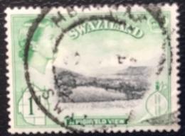 Swaziland - P2/64- (°)used - 1961 - Michel Nr. 81 - Koningin Elizabeth II - Swaziland (1968-...)
