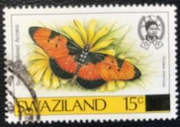 Swaziland - P2/64- (°)used - 1990 - Michel Nr. 579 - Vlinders - Swaziland (1968-...)
