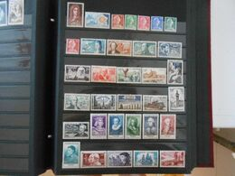 FRANCE ANNEE COMPLETE 1955 (YT 1008/1049)** - 1950-1959