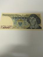 POLAND BANKNOTE 1000 COPERNICUS NEW - Poland