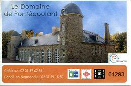 Domaine De Pontécoulant (Calvados- France) - Toegangskaarten