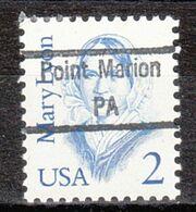 USA Precancel Vorausentwertung Preo, Locals Pennsylvania, Point Marion 843 - Precancels
