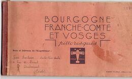 -- CHOCOLAT LANVIN / L'OISEAU BLANC / ALBUM COMPLET De Toutes Ses Images De BOURGOGNE FRANCHE COMTE Et VOSGES -- - Sammelbilderalben & Katalogue