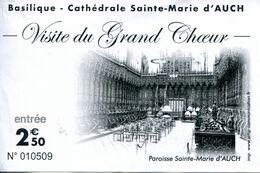 Basilique-Cathédrale Sainte-Marie D'Auch (Gers - France) - Toegangskaarten