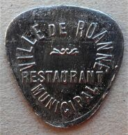 Monnaie De Nécessité - 42 - LOIRE - Roanne - Ville De Roanne. Restaurant Municipal - Desserts - - Monetary / Of Necessity