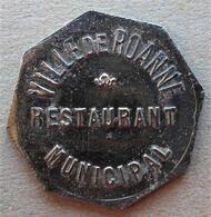 Monnaie De Nécessité - 42 - LOIRE - Roanne - Ville De Roanne. Restaurant Municipal - Légumes - - Monetary / Of Necessity