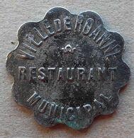 Monnaie De Nécessité - 42 - LOIRE - Roanne - Ville De Roanne. Restaurant Municipal - Pain - - Monetary / Of Necessity
