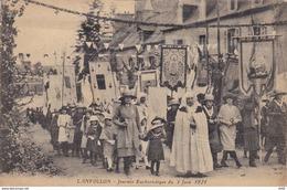 COTES D ARMOR LANVOLLON JOURNEE EUCHARISTIQUE DU 5 JUIN 1921 - Lanvollon