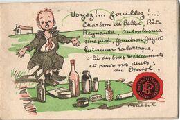 Illustrateur Poulbot Carnet Publicité Dentol ,  24pages Pour Coloriage Des Dessins - Poulbot, F.
