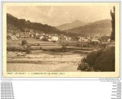 74 LE FAYET. Le Bonnant. Abbaye Mont Joly - Saint-Gervais-les-Bains